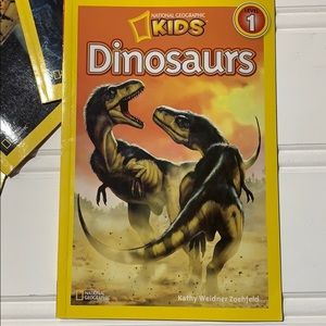 National Geographic Dinosaurs Level 1 Reader